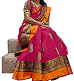 Fashion World bhagal puri Saree With Blouse Piece (SRK_S1136_Multi Coloured_Free Size)
