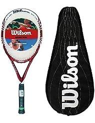 Wilson Cinco Dos BLX Raqueta De Tenis + Completo Funda L3