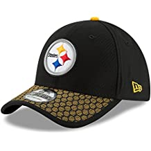 New Era NFL PITTSBURGH STEELERS Authentic 2017 Sideline 39THIRTY Stretch Fit Game Cap