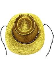 funcionamientos provee festivales anuales muestran la mascarada del sombrero del partido sombrero del carnaval ( Color : Amarillo )