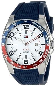 Tommy Hilfiger 1790885 - Reloj de pulsera hombre, caucho de Tommy Hilfiger