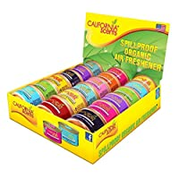 Spillproof Canisters 1.5 OZ - 18 pcs assorted fragrances