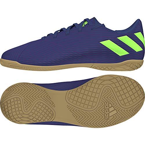 adidas Unisex-Kinder Nemeziz Messi 19.4 In J Fußballschuhe, Lila (TECH Indigo/Signal Green/Glory Purple), 35 EU