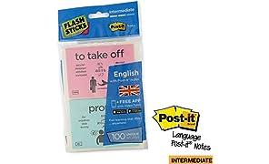 flashsticks Anglais Post-it Niveau 2intermédiaire Imprimé Sticky Notes
