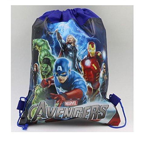 DELITE - Super Hereos Avengers cute kids mini PARTY bag backpack return gift , very light weight  available at amazon for Rs.175