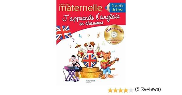 Traduction Du Mot Coloriage En Anglais.Amazon Fr Toute Ma Maternelle J Apprends L Anglais En Chansons