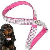 S Pink Chihuahua Hunde Strass Geschirr Hundegeschirr