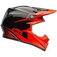 Bell Helmets MX 2015 Moto-9R Intake Casco Adulto, color Negro/Naranja,
