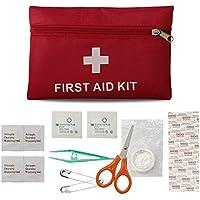 Erste Hilfe Set, KUYOU Erste Hilfe Set Mini Notfalltasche 18-teilig für Haushalt, Arbeit, Auto, Outdoor, Camping... preisvergleich bei billige-tabletten.eu