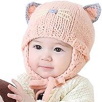 caps sombreros para unisex bebé niña niño otoño invierno caliente lana tejido  gorro bebé recién nacido 1c6d92961d3