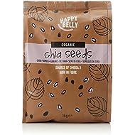 Amazon Brand - Happy Belly Organic Chia Seeds, 1000 g