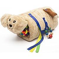 TwiddlePup-Therapie-Hilfe, sensorische Therapie - Alzheimer, Demenz, Autismus-Therapie-Produkt - Spielzeug für Stressabbau und Angstminderung - Plüsch-Hund