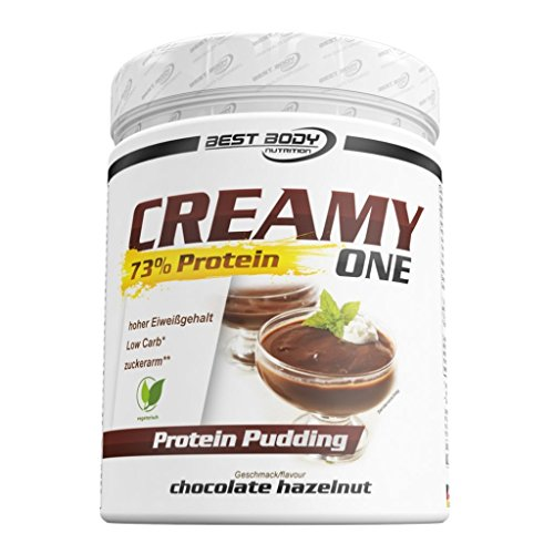 Best Body Nutrition Creamy One Protein Pudding, 300g Dose (2er Pack) (Dosen Pudding)