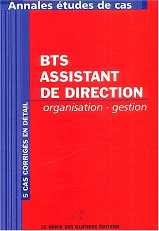 Organisation - Gestion BTS Assistant de direction