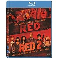 Pack: Red 1 + Red 2 (Blu-Ray) (Import) (2014) Bruce Willis; Helen Mirren; Jo