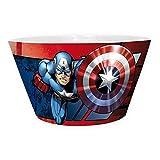 Captain America Marvel Comics Bol en céramique-Bol à céréales-Iron Man VS Boîte Cadeau