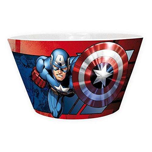 Captain america Marvel Comics - Cerámica Cuenco Cuenco para Cereales - Iron Man VS Caja de Regalo