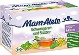 MamAlete - Bio Schwangeren- und Stilltee Aufgussbeutel Kräuterteemischung - 20x2g