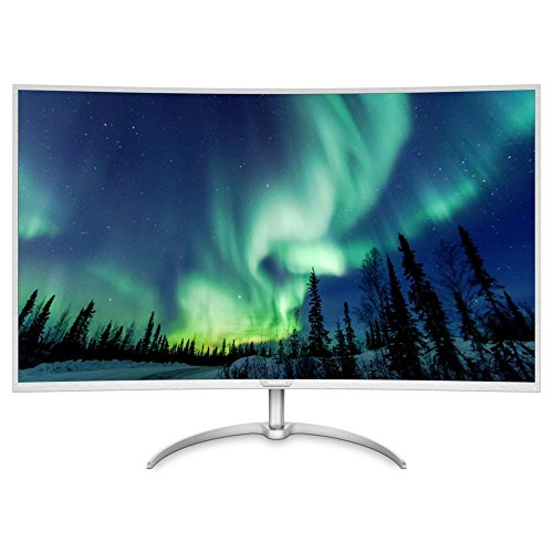 Philips BDM4037UW/00 40-Inch 4K UHD 3840 x 2160 Curved LED Monitor - Silver