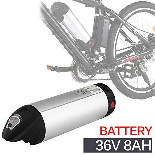 ANCHEER e Bike Elektrofahrrad Faltbares Mountainbike, 26 Zoll Reifen Elektrisches Fahrrad Ebike mit 250W bürstenlosem Motor und 36V 8Ah Lithium-Batterie Shimano 21 Gang