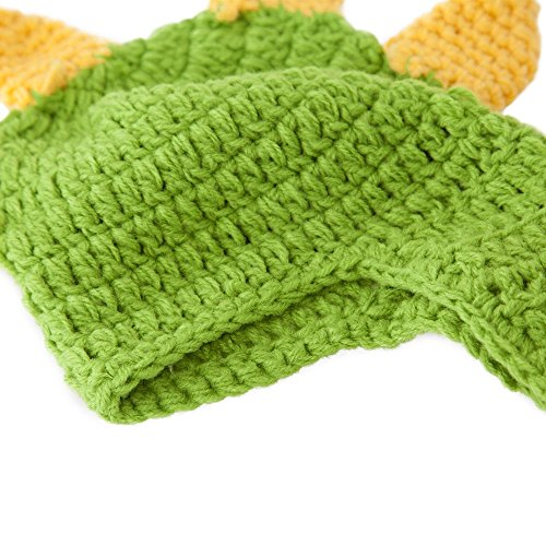 23% OFF on Generic Deep Green   Lovely Newborn Crochet Outfits Warm Set Cap  Boy Cap Girl Hat Baby Cap Baby Hat For Infant Newborn Photography Prop ... af2c34bd7854