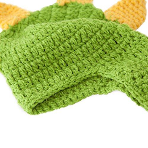 23% OFF on Generic Deep Green   Lovely Newborn Crochet Outfits Warm Set Cap  Boy Cap Girl Hat Baby Cap Baby Hat For Infant Newborn Photography Prop ... bddf20376b0a