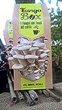 Fungo Box - Kit de cultivo casero de setas ostra (comestibles y sabrosas) a partir de posos de café, un regalo ideal
