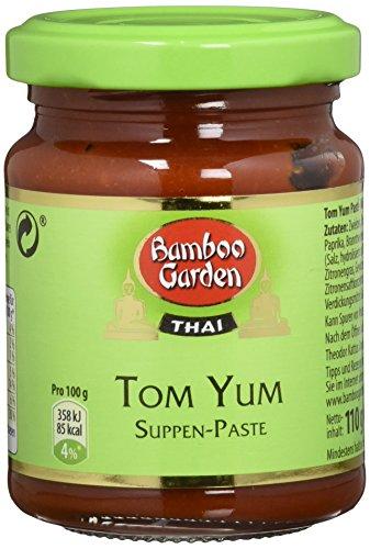 Bamboo Garden Tom Yum - Suppenpaste, 3er Pack (3 x 110 g)