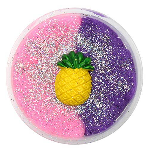 TIMEMEAN Bunt Ostern Squishy Süß Soft Erdbeere Mischen Wolke Baumwolle Süßigkeiten Schleim Duftender Stress Kinder Lehm Spielzeug (Süßigkeiten Für 1 Cent)
