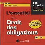 Lire le livre L'essentiel droit des obligations gratuit