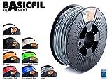 BASICFIL PET 1.75mm, 1 kg filamento de impresión 3D, Naranja