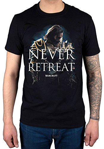 Official World of Warcraft Never Retreat T-Shirt