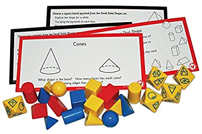 "Inspirational Classrooms 3118204 ""3D Shape Pack Educational Toy from EdTech"