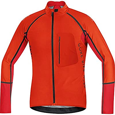 GORE BIKE WEAR 2 in 1 Herren Soft Shell Mountainbike-Jacke, Abnehmbare Ärmel, GORE WINDSTOPPER, ALP-X PRO WS SO, SWPALP