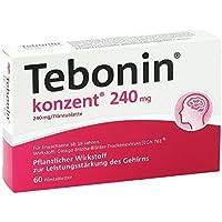 Tebonin konzent 240 mg Filmtabletten 60 stk preisvergleich bei billige-tabletten.eu