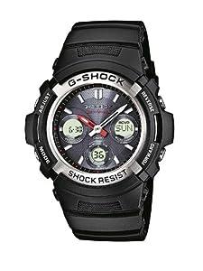 Reloj Casio AWG-M100-1AER y digital de cuarzo para hombre con correa de resina, color negro de Casio
