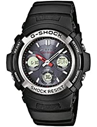 Casio G-Shock – Herren-Armbanduhr mit Analog/Digital-Display und Resin-Armband – AWG-M100-1AER