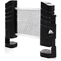 meteor Table Tennis Net Portable 200cm / 79 inch Instant Retractable Replacement Ping Pong Rack Accessory Nets Adjustable Any Table Travel Holder Indoor Outdoor Sports Accessories