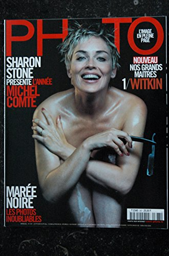 Photo 367 sharon stone michel comte son album tres prive nu hot jardin secret