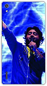 Crazy Beta Arjit singh bollywood singer Printed mobile back cover case for Huawei Ascend P7