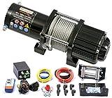 Power Series® 12V Elektrische Seilwinde 5000 Extreme - Mit Funkfernbedienung und Handschalter - Zugkraft 2268 kg (Stahlseil) / 4536 kg (mit Umlenkrolle)