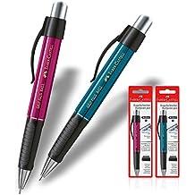 Faber Castell 1407Grip Plus (2unidades color morado y color azul