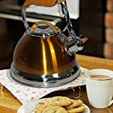 Berry Desgin & Beautifully v39 modern deep shine yellow Kettle Suitable For All Cookers- Anti-Allergic Enamel coating pack of 2.7L (1 pc)