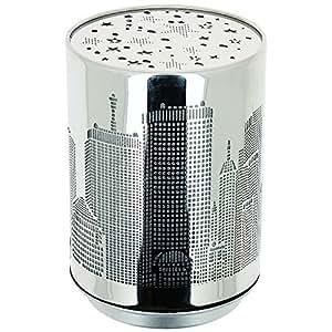 New York -Lampe Veilleuse LED Socle Tactile Décor Building New York Illuminé