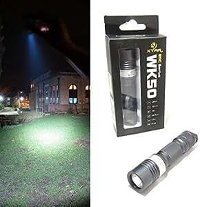 Xtar WK50 Torch Flashlight. chaque jour de l'EDC) series CREE XP-G R5–LED étanche IPX8 (sous l'eau - 0,5 m