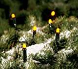 KONSTSMIDE 3053-000OD LED-Lichterkette 200 gelbe Dioden LEDs innen und aussen