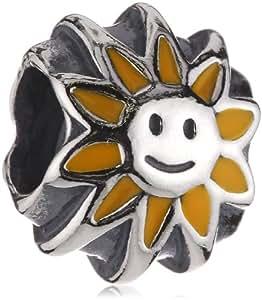Pandora Damen-Bead Sterling-Silber 925 Sonne 790532E20