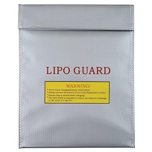 OUTAD Sacchetto di Protezione Anti-incendio per RC Batteria LiPo Guardia