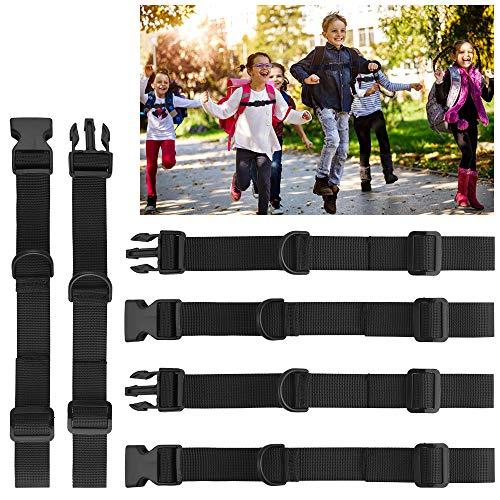 Heqishun 3 Stück Brustgurt für Schulranzen Verstellbarer Brustgurt Rucksack Brustgurt Ranzen für Kinder rutschfest Brustgurt Rucksack Zum Jogging und Wandern