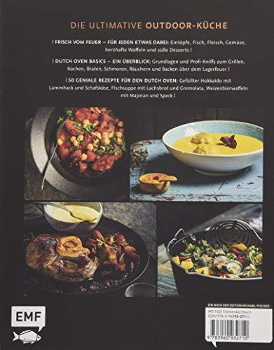 Dutch Oven – Ja, ich grill! 50 Feuertopf-Rezepte zum Niederknien: Outdoor-Küche am Lagerfeuer
